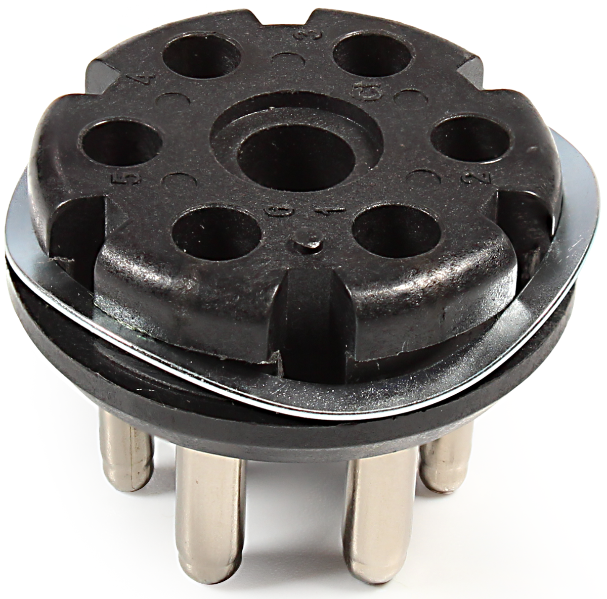 Plug - for Leslie, 6 Pin Male, wavy washer