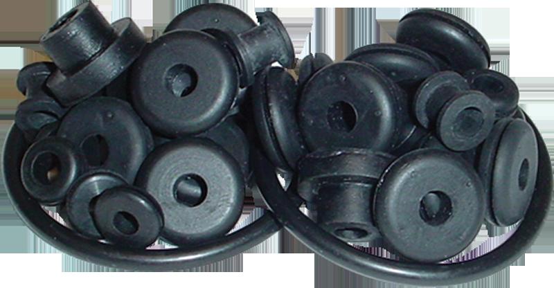 Grommet Kit - All Rubber Parts, for Leslie