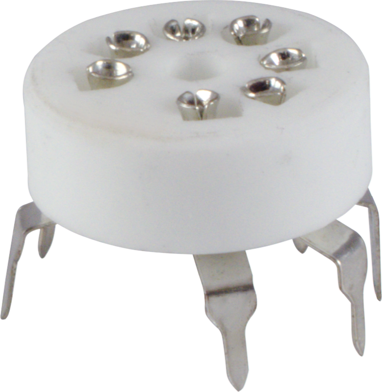 Stupendous Socket 7 Pin Miniature Standoff Ceramic Pc Mount Inzonedesignstudio Interior Chair Design Inzonedesignstudiocom