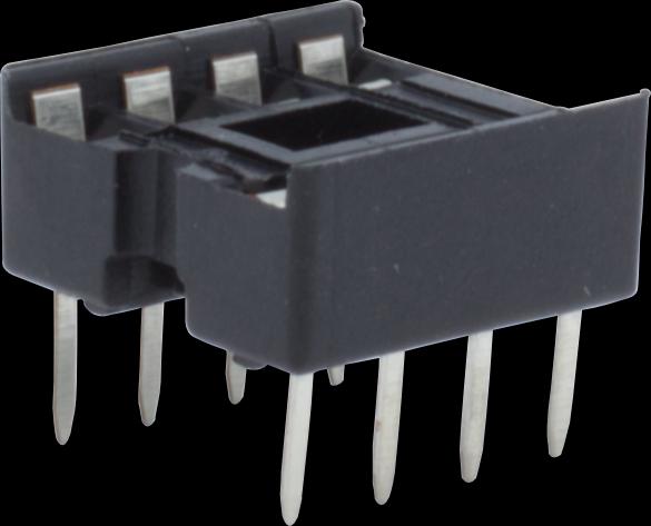10x Runde Loch 8pin Pitch 2,54 mm DIP IC Sockel AdapterJMDE BXDE