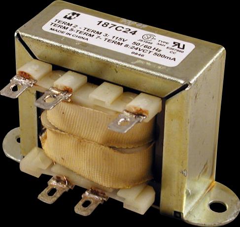 Transformer - Hammond, Low Voltage, Single Primary, 120VCT
