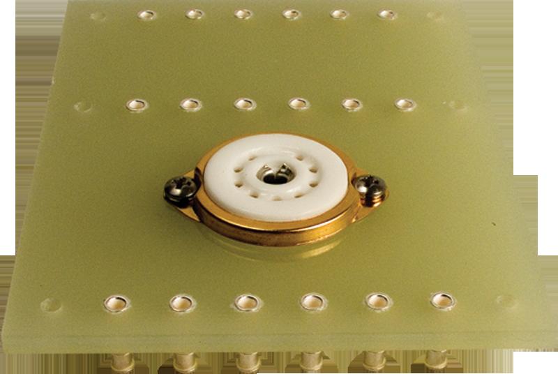 Terminal Board - one 9 Pin socket, 3 x 6 lugs