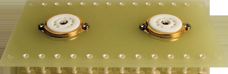 Terminal Board - two 9 Pin sockets, 2 x 12 lugs