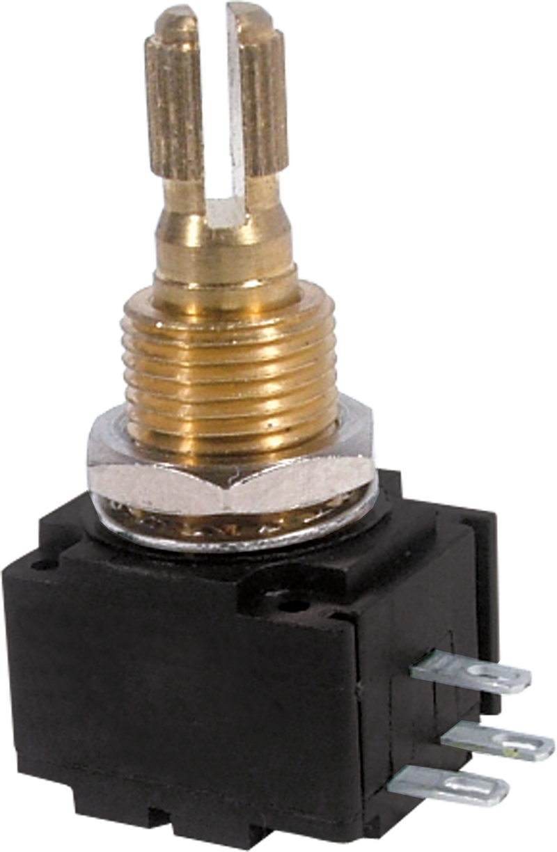 Potentiometer - Bourns, Audio, Knurled Shaft, 24mm