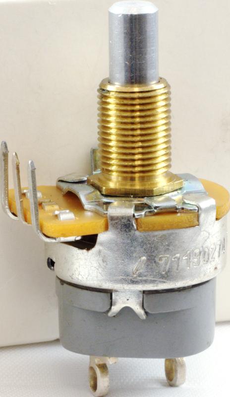 B50K 50K Linear Potentiometer Solder Lugs