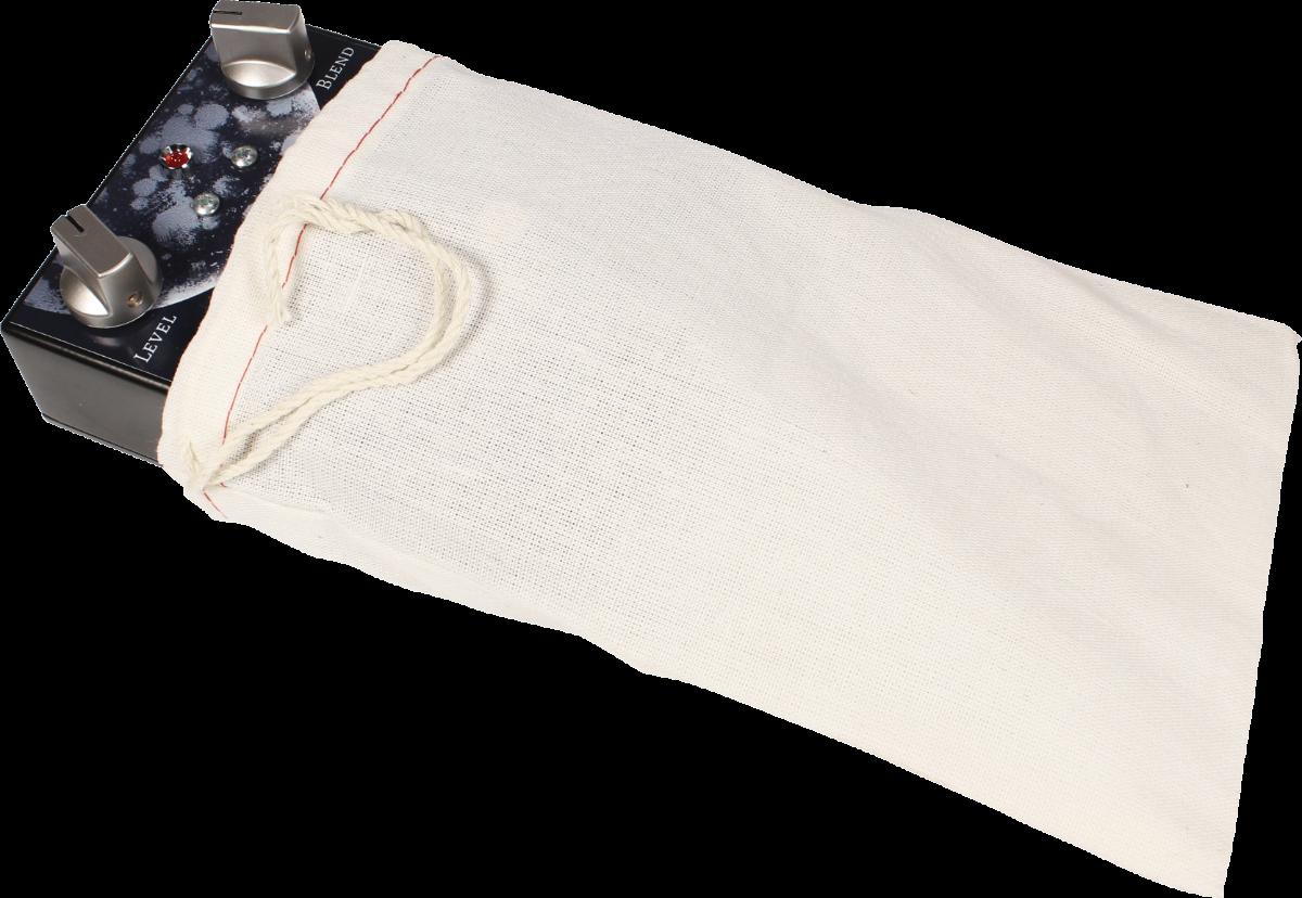"Cloth Pedal Bag - 5"" x 8"", 100% Cotton"