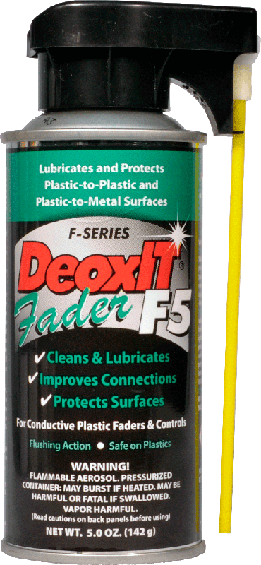 DeoxIT® Fader F5 - Caig, 5% solution