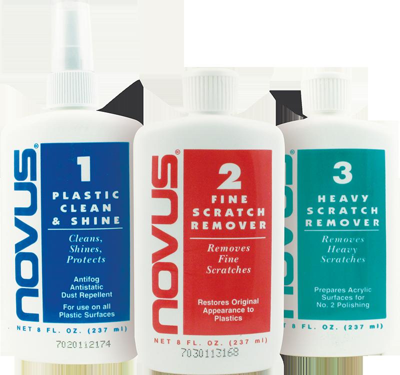 Plastic Polish Novus Set Of Each 1 2 And 3