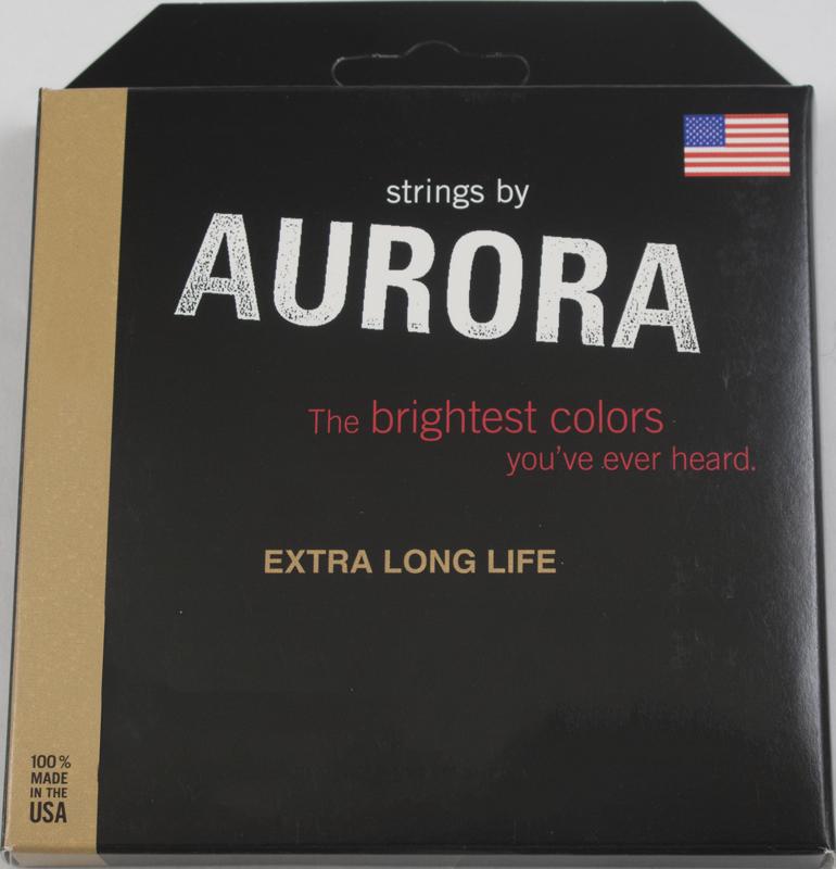 5 string bass guitar strings aurora nitro lime medium amplified parts. Black Bedroom Furniture Sets. Home Design Ideas