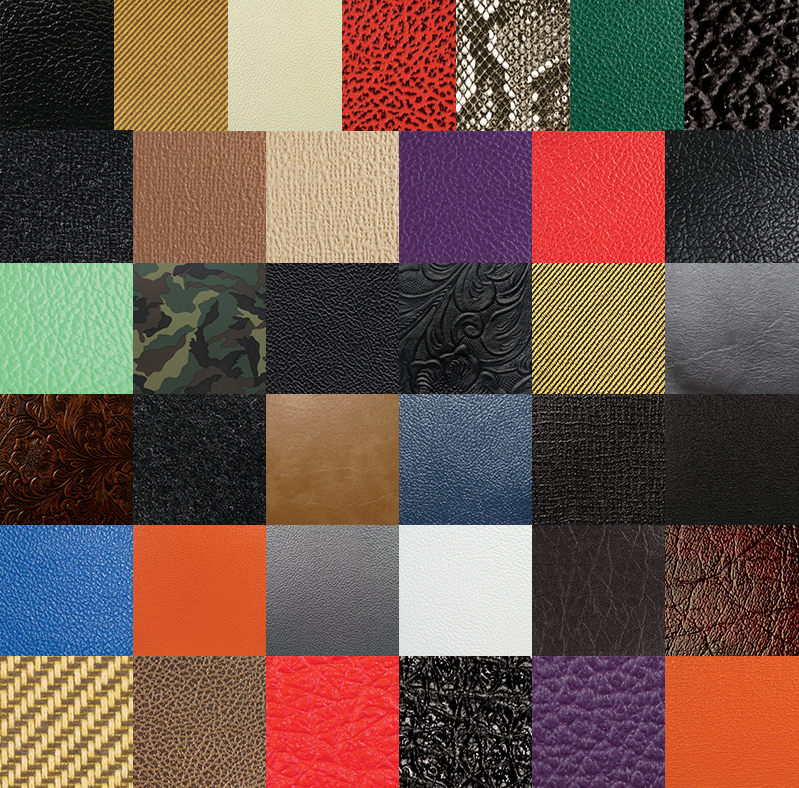 Tolex - Samples of all Tolex / Cabinet Covering