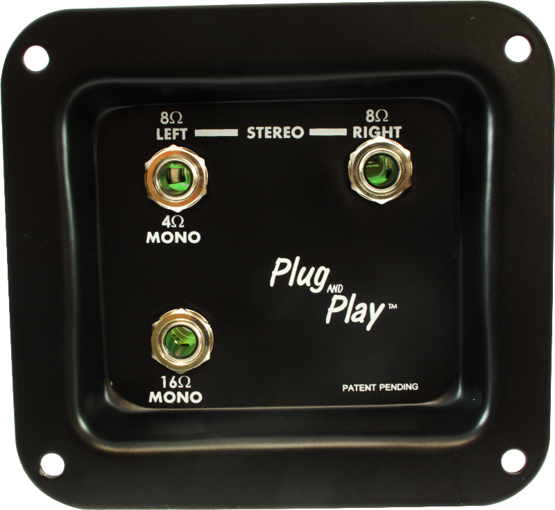 1 4%22 mono input jack polarity diagram jack plate plug and play  mono stereo amplified parts  jack plate plug and play  mono