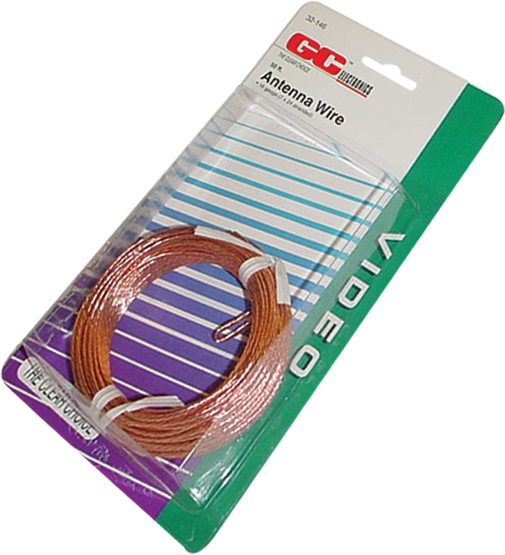 Wire - Stranded Aerial, for antennae, 50 feet   Amplified Parts