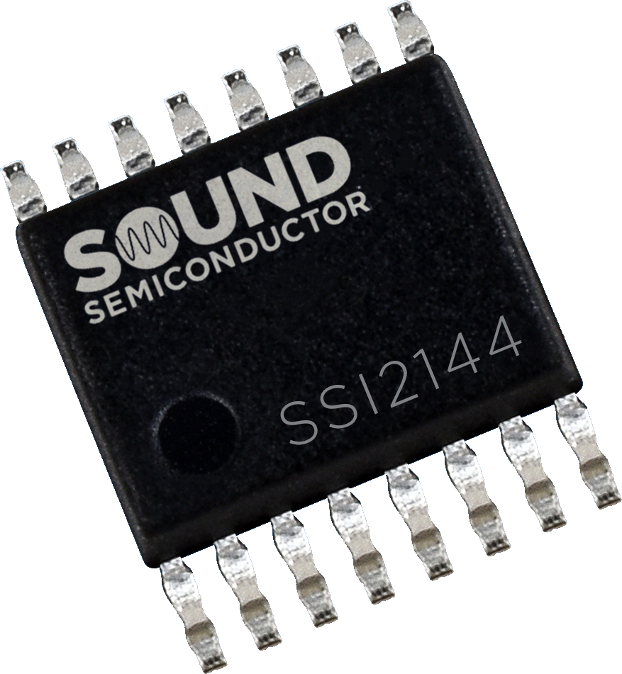 Integrated Circuit - SSI2144, Ladder VCF, Sound Semiconductor