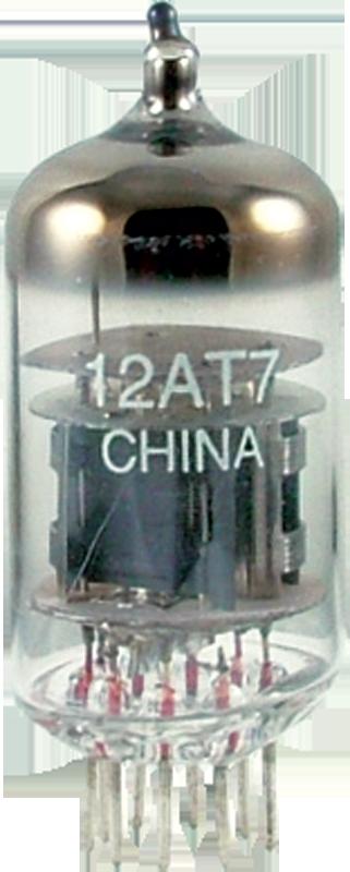 Vacuum Tube - 12AT7, China