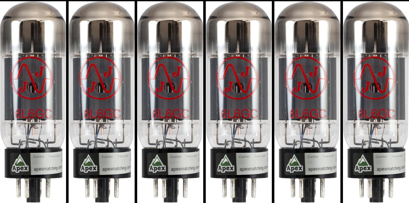 for Fender Hot Rod Deluxe JJ Electronics APEX Matched Power Tubes Tube Set